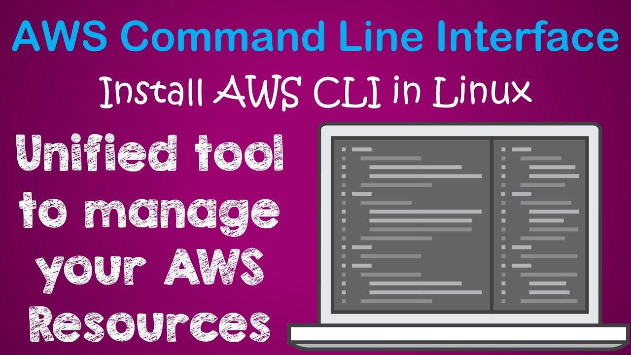 How to start with AWS Command Line | Install & Configure of AWS CLI on  Linux | Demo