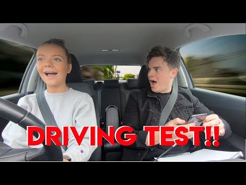 TEACHING MY LITTLE SISTER HOW TO DRIVE BAD IDEA