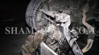 Ավտովթար Երևանում  42 ամյա վարորդը Opel ով բախվել է մայթի եզրաքարերին և գլխիվայր շրջվել