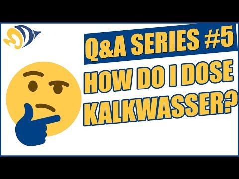 Q&A Series #5: How Do I Dose Kalkwasser?