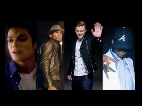 "Michael Jackson ft Chris Brown, Justin Timberlake, Usher - ""Love Never Felt So Good"" Music Video"