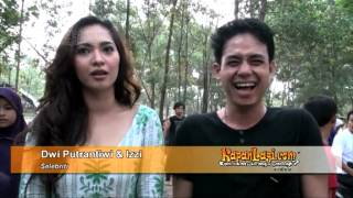 Dwi Putrantiwi-Izzhy Dekat, Suami Cemburu