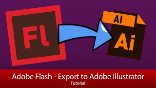 Export From Animate CC (Flash CC 14+) To Illustrator [Tutorial]
