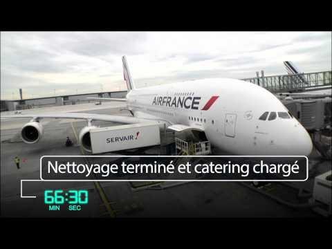 Air France - Les coulisses d'un départ long-courrier