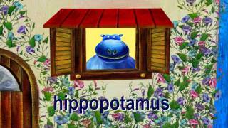 "Hippo and House- Lower Case Alphabet ""H"" thumbnail"