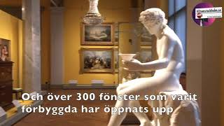 Nyrenoverade Nationalmuseum 2018