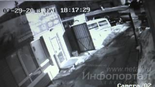 Столкновение «Мазды» с «Мицубиси Эклипс» в ВКЗ(29 марта 2013 года, Зеленоград, Сосновая аллея. Подробности: http://www.netall.ru/gnn/130/572/704270.html., 2013-04-01T08:14:56.000Z)