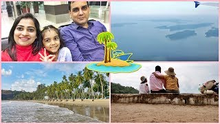 Andaman Day 1- Part 1 Vlog_Cute Andaman Airport to Carbyns Cove Beach Port Blair