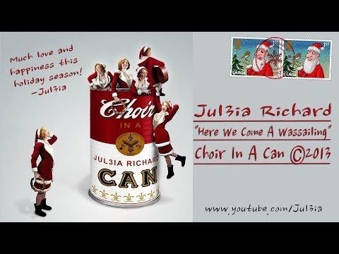 CHOIR IN A CAN: Here We Come AWassailing with Lyrics and Sheet Music