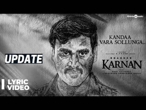 Kanda Vara Sollunga Song Lyrics video | Full Song Free Download | Dhanush | Greyman