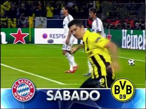 Chamada Globo: Bayern München X Borussia Dortmund (UEFA Champions League 2012-13 Final)