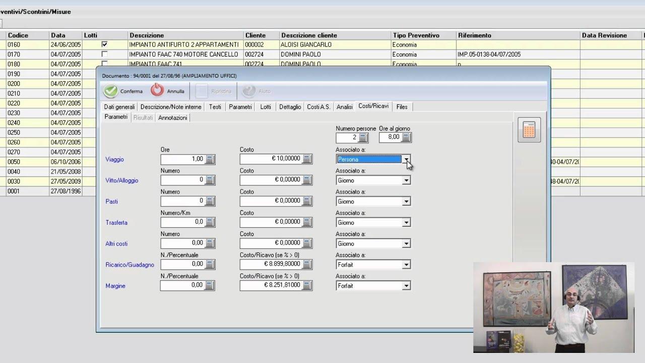 Come fare un preventivo ed il contratto per un impianto for Preventivo impianto elettrico