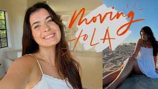 I moved to LA! | empty apartment tour + life update