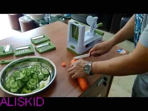 Veggie Spiralizer - Vegetable Spiralizer - Vegetable Slicer - Vegetable Spiral Slicer