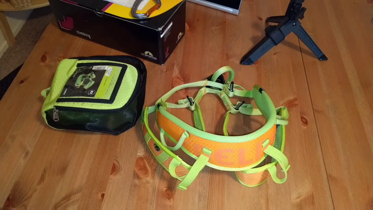 Klettergurt Edelrid Finn : Edelrid finn 2 harness review: perfect for a growing child youtube