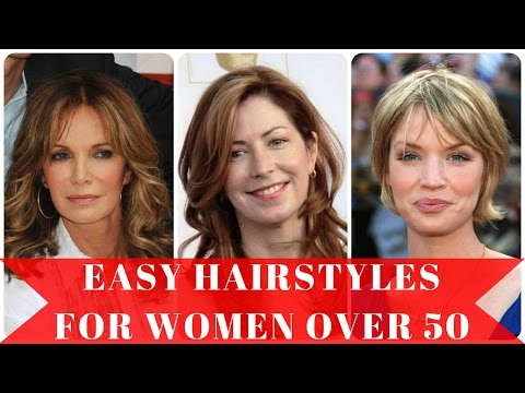 Easy hairstyles for women over 50