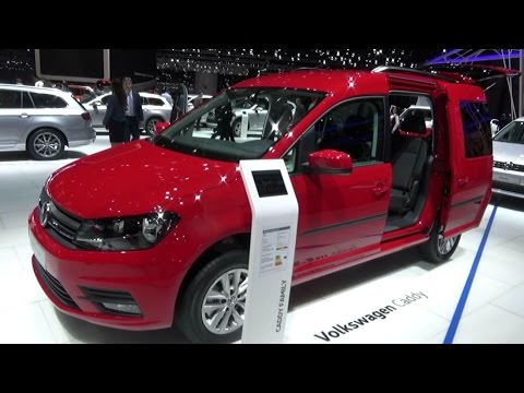 2017 volkswagen caddy family ecofuel exterior and interior geneva motor show 2017 youtube. Black Bedroom Furniture Sets. Home Design Ideas