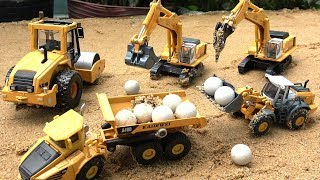 Construction trucks for children | Excavator videos for children | Trucks for kids toys