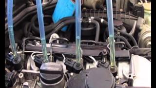 mercedes w210 e220 cdi fuel valves overflow test test przelewowy