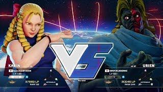 Bonchan (Karin) vs KNUCKLESONIC (Urien):ボンちゃん(かりん)vs ナックルソニック(ユリアン) thumbnail