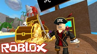 Roblox: ESCAPE DOS PIRATAS !! - (Escape Treasure Island)