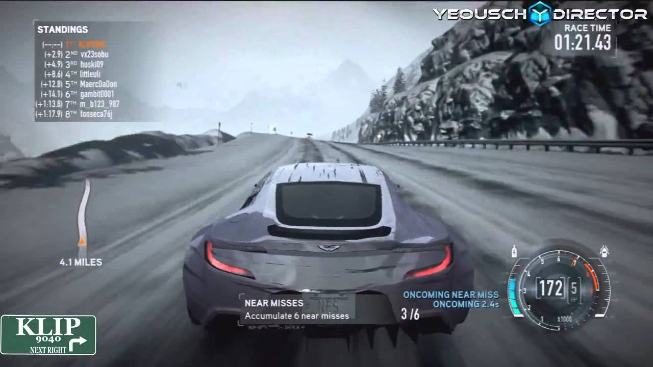 Need For Speed The Run Car History Aston Martin One 77 Youtube