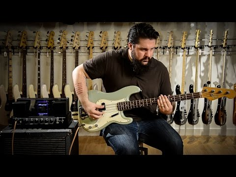 1966 Fender Precision Bass Guitar Demo