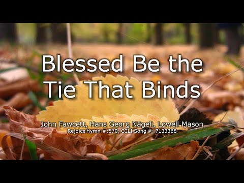 Download Blest be the tie that binds   lyric video
