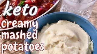 Amazing Keto Cauliflower Mashed Potatoes