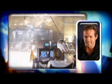 Ryan Reynolds & Peter Sarsgaard interview - The 7pm Project - Green Lantern