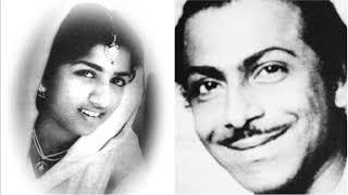 Gambar cover Jaago Mohan Preetam Lata Mangeshkar Music Salil Chowdhury Film Ek Din Raatre..
