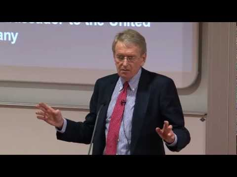 Vice-Chancellor's Distinguished Lecture Series - Sir Chris Meyer: The Lessons of History