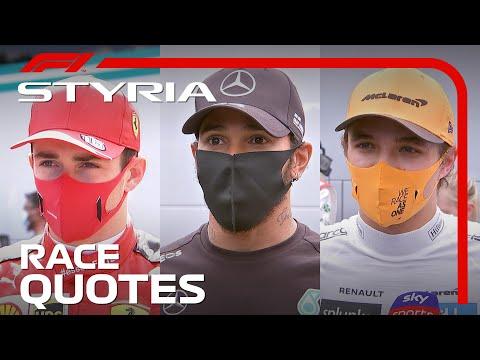 2020 Styrian Grand Prix: Post-Race Reaction