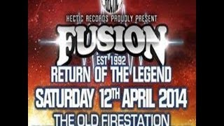 DJ Doug Horizon @ Fusion 12Th April 2014 The Old Fire Station Bournemouth