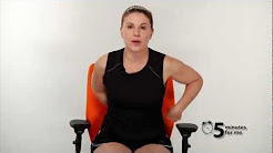 5 Minutes For Me: Office Chair Exercises - Lower Back