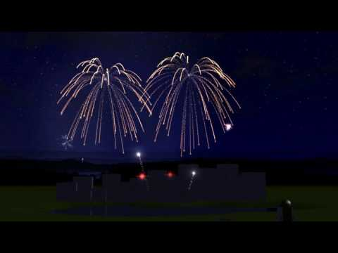 RCT3 Fireworks: So Alive