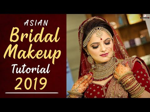 2019 Asian Bridal Makeup Tutorial | Indian Bride | Step By Step Bridal Makeup | Krushhh By Konica thumbnail