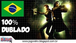 Alone in the Dark : O Pesadelo Renasce DUBLADO em Português no Playstation 1