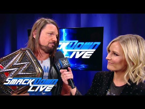 """AJ Styles has a message for """"Kami"""": SmackDown LIVE, Jan. 16, 2018"""