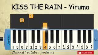 not pianika kiss the rain - yiruma - tutorial belajar pianika