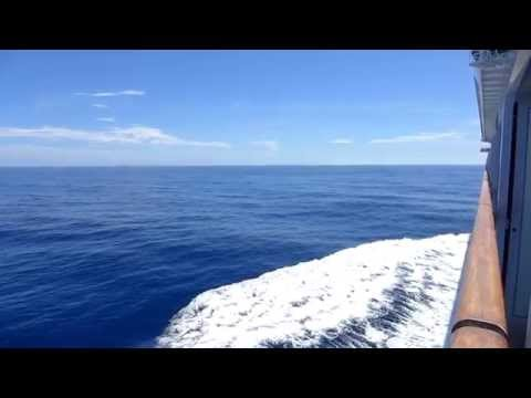 Philippines - Legend of the Seas sailing off the coast of the Philippines HD (2015)