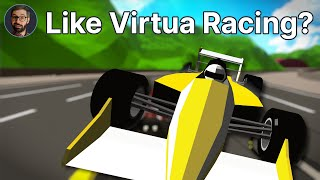 Formula Retro Racing Review | Retro arcade with some improvements (Video Game Video Review)