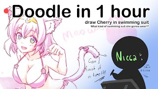 🔴[Nicca]Doodle In 1 Hours - Cherry Summer