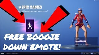 FREE FORTNITE BOOGIE DOWN EMOTE TUTORIAL & SETUP!