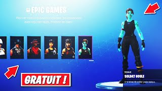 VOICI HOW UNLOCKED ALL SKINS on Fortnite! thanks to that.