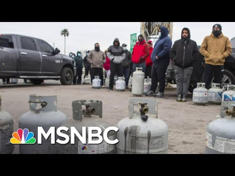 Texas Grapples With Power Issues As Cold Snap Has Turned Into Crisis   Craig Melvin   MSNBC