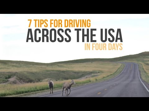 7 Tips for Driving Across USA in Four Days
