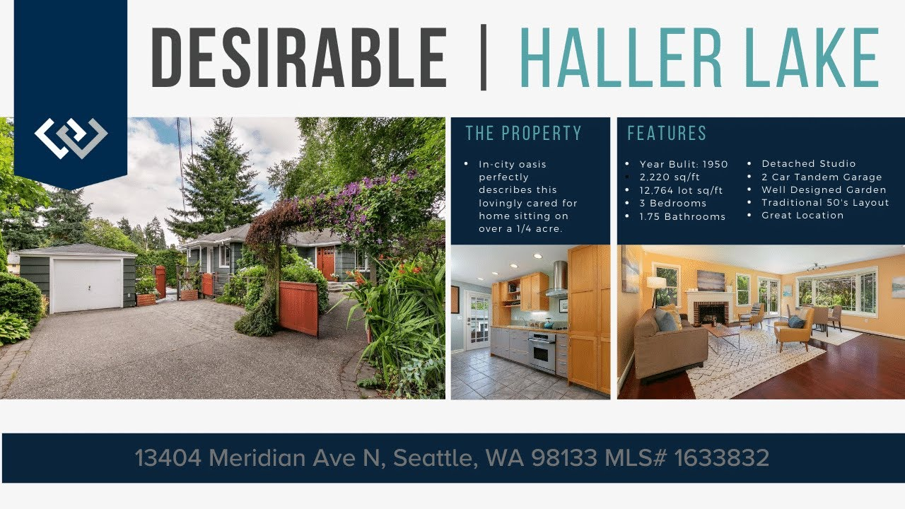 13404 Meridian Ave N, Seattle, WA 98133 MLS# 1633832 BrennerHill