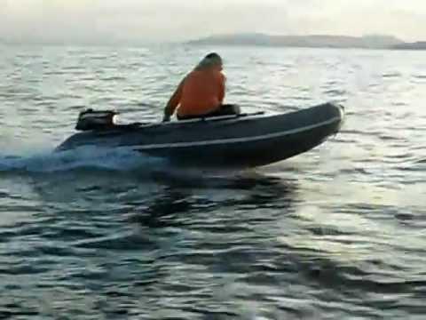 Моя первая лодка - Флагман 320. - YouTube
