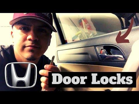 Honda CRV common door lock problems